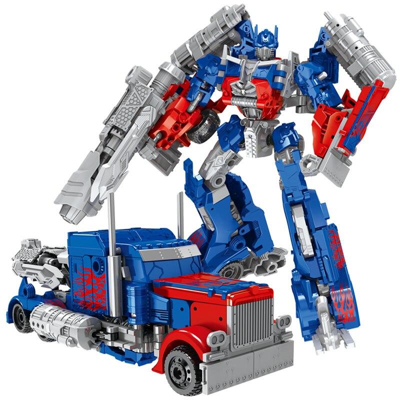 Kollane või sinine transformeeruv robot