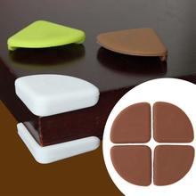 4pcs/set Silicone Corner on Furniture Protection Pad Table Guards Baby Safety Cover Baby Pads Safe Product(China)