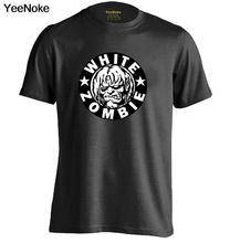 WHITE ZOMBIE ROCK N ROLL Mens & Womens Comfortable Cool T Shirt Printing T Shirt(China)