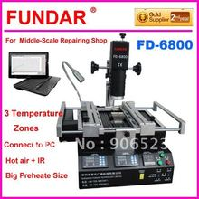 FD-6800 for computer laptop xbox360 ps3 BGA chip-level repairing software control system rework station(China)