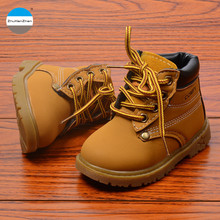 2017 high quality kids fashion boots 1 to 5 years old baby boy and girl martin boots winter keep warm children cotton boots