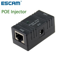 RJ45 POE Injector Power over Ethernet Switch Power Adapter POE001 For POE IP Camera(China)