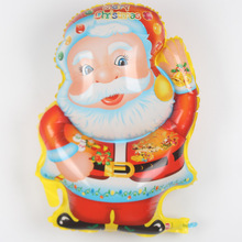 New arrivals santa claus foil balloons inflatable Christmas decoration natal decoration balloon christmas balls