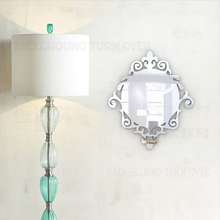 European Medieval Style Vintage 3mm Thick 3D Acrylic Wall Mirror Wall Sticker Living Room Bedroom Bathroom Home Decor Mural M008