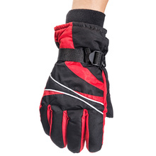 Discount ski gloves Snowboard Motorcycle winter gloves Skiing Windproof Waterproof unisex Men and Women Warm gloves(China)
