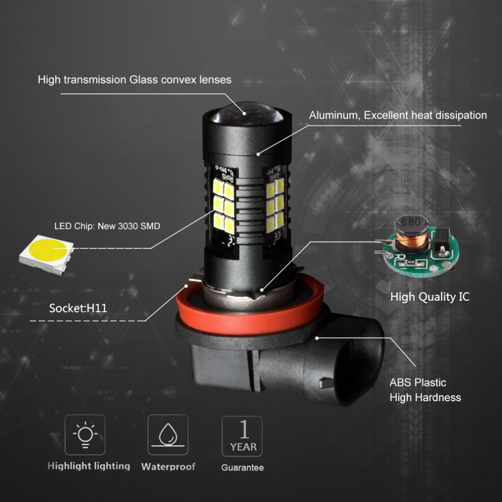 H11 led fog light Bulb