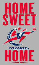 Washington Wizards Home Sweet Home Flag 100D 3ft x 5ft Polyester brass grommets Custom Flag(China)