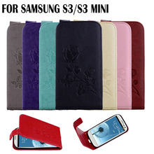 Flip case for Samsung Galaxy SIII s3 mini case cover PU leather + TPU cases covers With a wallet fundas case for samsung S3mini(China)