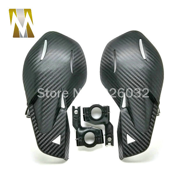 Carbon Handguards Motocross ATV Motorcycle Brush Hand Guards Falling Protection Hand guard Cover 7/8 Motorbike Handguard<br><br>Aliexpress