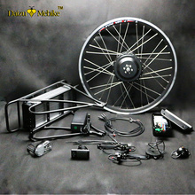 "Buy 250W/350W/500W 36V-48V Rear Carrier Battery Electric Bicycle Kits Electric Bike Conversion Kit 20"" 26"" 700C 28"" Bike Refit for $283.65 in AliExpress store"