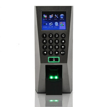 Biometric Building Management System ZK F18 Slim Biometric Fingerprint Access Control and Time Attendance Door Security System