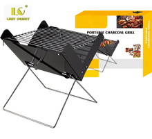 LC Mini bbq grill outdoor bbq grill stand picnic portable folding bbq charcoal grill