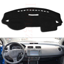 Dongzhen Fit For SUZUKI Swift Car Dashboard Cover Avoid Light Pad Instrument Platform Dash Board Cover(China)