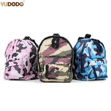 Camouflage Dog Backpack Adjustable Oxford Breathable Small Dog Schoolbag For Teddy Chihuahua Blue Pink Green Pet Dog Carriers(China)
