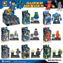 8pcs/lot DLP9014 Building Blocks Super Heroes Avengers Ultron Mini Dolls Darkseid Gorilla Grood Batman Superman Flash Bricks