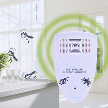 EU Plug Electronic Ultrasonic Rat Mouse Repellent Indoor Anti Mosquito Insect Pest Killer Magnetic Repeller Rodent Control(China)