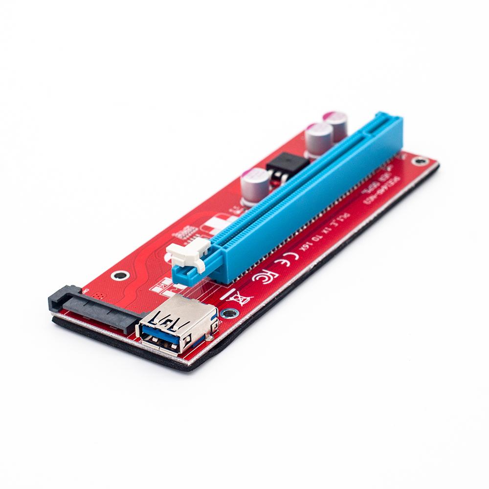 Райзер для видеокарты pci-e x1-x16 своими руками 66