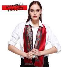 LMFC Classic Totem Silk Scarf Luxury Brand 2017 High Quality Womens Soft Scarves(China)