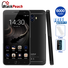 "Gretel GT6000 Dual Rear Camera Mobile Phone 5.5"" HD MT6737 Quad Core Android 7.0 2GB+16GB 13MP Cam 6000mAh Battery Fingerprint"