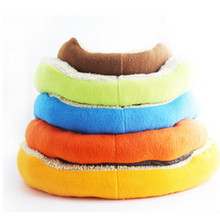 Free shipping Pet Bed Soft Round Shape Pet Mat Kennel Warm House Puppy Dog Cat Kennel Dog Bed for Dog Cat Pet Supplies New