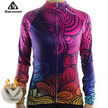 Racmmer 2017 Cycling Jersey Winter Long Bike Bicycle Thermal Fleece Ropa Roupa De Ciclismo Invierno Mujer Mtb Clothing #NZ-02 - Official Store store