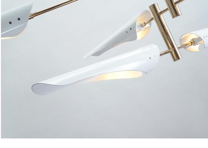 LukLoy Post Modern Metal Branch Chandelier Nordic Hanging Lamp Light Lighting Fixture Creative Personality LED Pendant Light (17)
