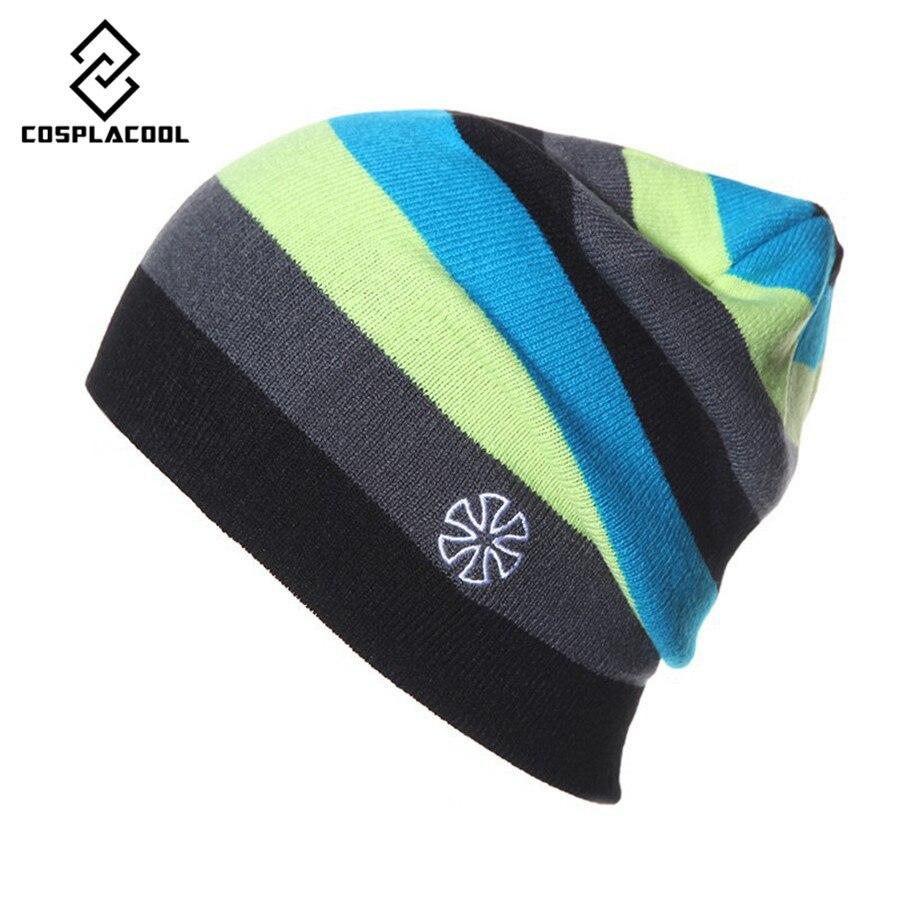 [COSPLACOOL] NEW fashion men and women hat ski cap knitted cap hip-hop hat autumn and winter hatsÎäåæäà è àêñåññóàðû<br><br><br>Aliexpress