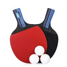 Table Tennis paddle set 2pcs / Set Table Tennis Ping Pong Racket with Ball
