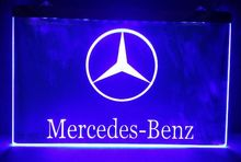 Benz car beer bar pub club 3d signs led neon light sign man cave(China)