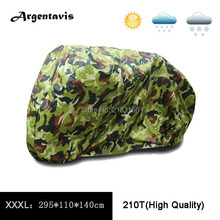 Hot Sale XXXL Camouflage  Motorcycle Motobike covers waterproof dust protector scooter cover accessories parts