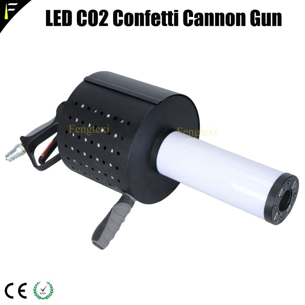LED CO2 Confett Cannon3