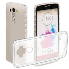 Big discount TPU phone Case for LG G3 5.5 inches Slim Flexible Soft  Shell Protection clear Cover  case for LG G3
