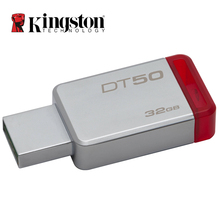New Kingston 8GB 16GB 32GB 64GB 128GB USB Flash Drive USB 3.1 Pendrive Stick Mental Pen Drive Memory Stick USB 3.0(China)