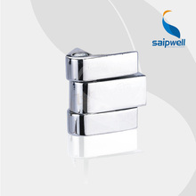 SP208 Shining Finished Zinc Alloy Small Hinge for Box /Tensile Strength Industrial Cabient Hinge (5pcs/lot)(China)