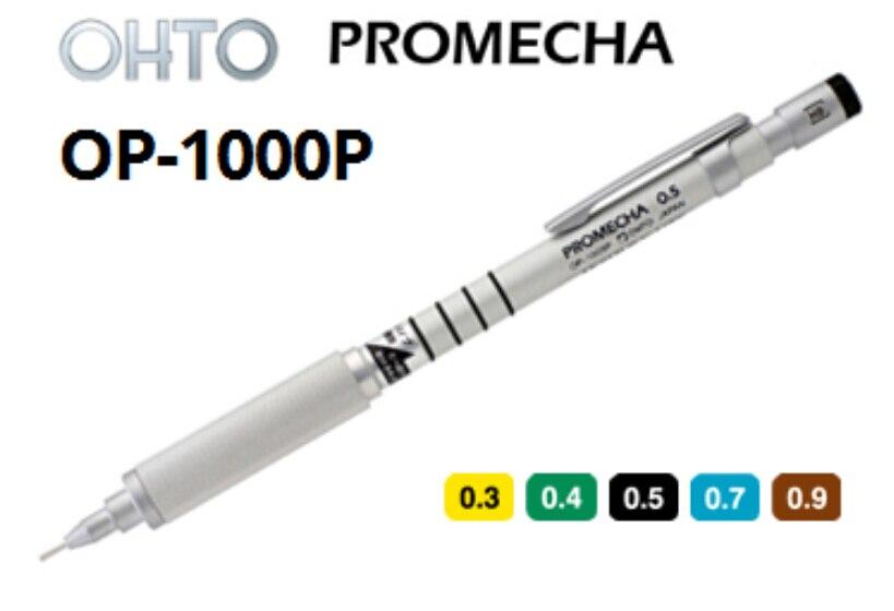 Mechanical Pencils Original Japen OHTO OP-1000P 0.3/0.4/0.5/0.7/0.9MM  office and school pen wholesale 10pcs/lot   Free Shipping<br><br>Aliexpress