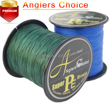 Anglers Choice Japanese100% PE Braided Fishing line 500m Multifilament Fishing lines 40lb 80lb100lb Best Fishing Line(China)