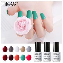 Elite99 7 ml Primer Gel Professional Nail Art Salon Manucure Gel Vernis Soak off UV LED Couleur Nail Gel Polish Besoin Base Haut manteau(China)