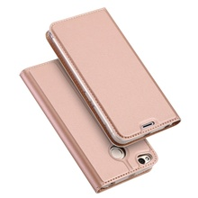 DUX DUCIS for Xiaomi Redmi 4X case Cover Skin Pro Series Business Leather Stand Mobile Cover for Xiaomi Redmi 4X - Rose Gold