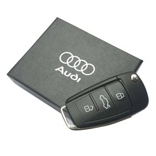 8GB 16GB 32GB 64GB USB 2.0 Car Key Pendrives Model Flash Memory Stick Storage Usb Flash Drive For Audi In Gift Box Pen Drive