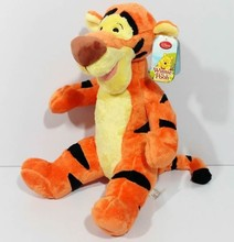 Free shipping 42cm=16.5'' Cartoons Tigger Tiger stuffed animal plush toy birthday gift