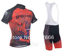 2013 Spider  Nice Quality Hot Retail Sell High Quality Cycling Jersey(Upper) Short Lower Bike Cloth Made of Quick-dry material
