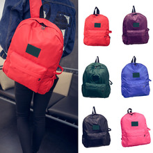 Buy New Fashion Women Men Waterproof Nylon Backpack School Bag Travel Bagpack BS88 for $4.71 in AliExpress store
