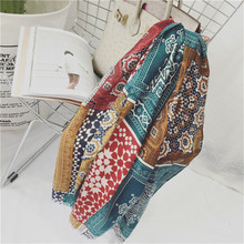 Free Shipping New spring autumn silk scarves warm scarf shawl long soft Retro scarf elegant snowflake female Women's scarves