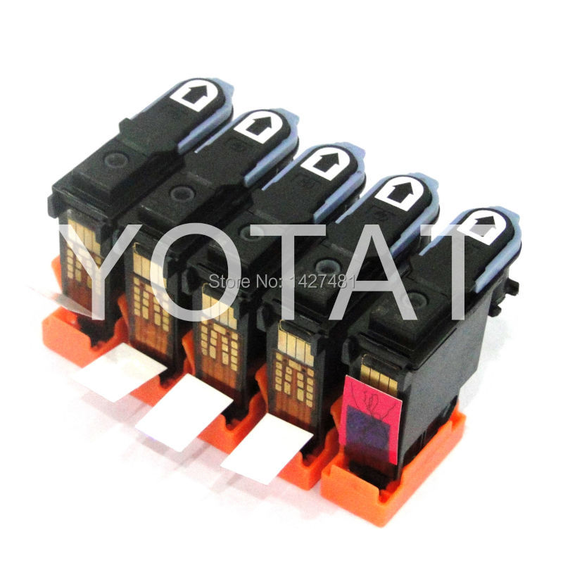 Black 5 Pieces remanufactured printhead for HP11 C4810A For HP 11 print head compatible Projet 660pro 3D systems (D printer)<br><br>Aliexpress