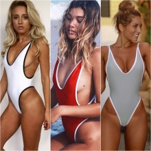 Sexy Women One Piece Bikini Monokini Swimsuit Beach Backless Swimwear BeachWear women sports clothing swimming suit for woman(China)