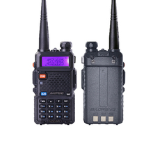 1PC Baofeng UV-5R Walkie Talkie Professional VHF/UHF Dual Band Handheld Two Way Radio 5W Dual Display Ham Radio