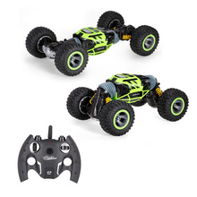 UD2168A 2.4G 4WD Double Sided Stunt RC Car One Key Deformation Vehicle Monster Rock Crawler Off-road Truck RTR