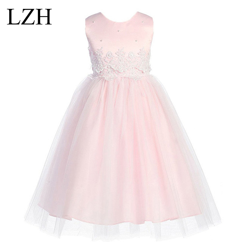 Flower Girl Dress 2017 Summer Baby Girls Birthday Party Dress for Girl Toddler Kids Wedding Princess Tutu Dress Children Clothes<br><br>Aliexpress