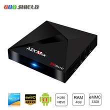 Buy A5X Max Smart Android 7 TV Box RK3328 4K HDR10 USB3.0 4GB 32GB dual-band Wifi LAN Bluetooth 4.0 HD Media Player pk A5X MAX+ Plus for $74.20 in AliExpress store