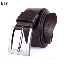 Hot Stylish Fashion Luxury Design Business PU Leather Single Prong Belts For MenMetal Pin Buckle High Quality Fancy Vintage 21N4